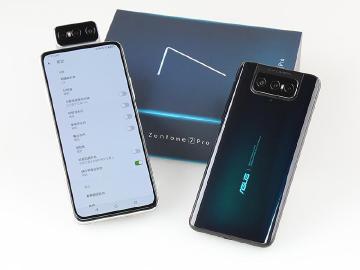 翻轉三鏡頭、5G手機 ASUS ZenFone 7與7 Pro開箱