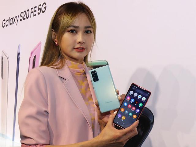 三星S20 FE多彩輕旗艦5G手機 9/28開放預購 10/7上市