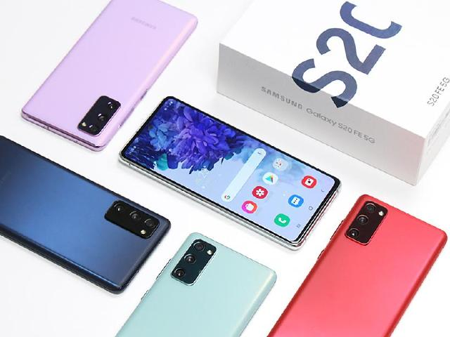 繽紛輕旗艦5G手機 SAMSUNG S20 FE全色系開箱