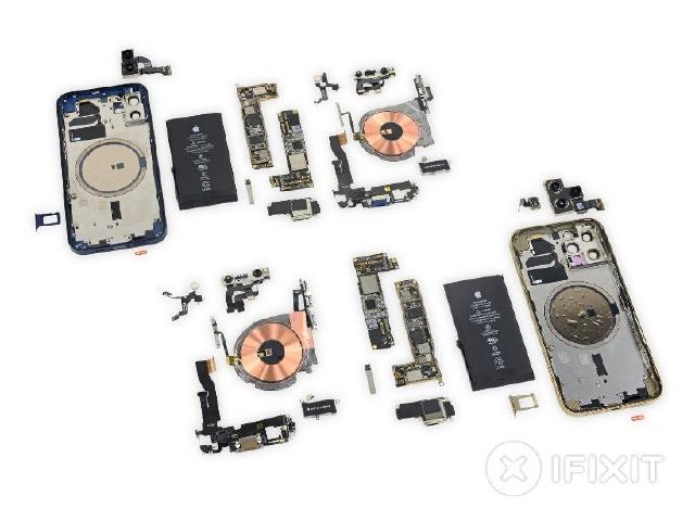 iFixit評i12修復難易同i11 超瓷晶盾面板防護力強