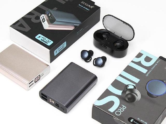 出門必備!SUGAR藍牙耳機與行動電源開箱體驗
