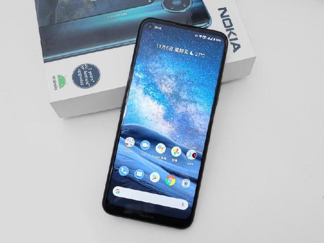 大螢幕5G手機 Nokia 8.3 5G開箱拍照實測