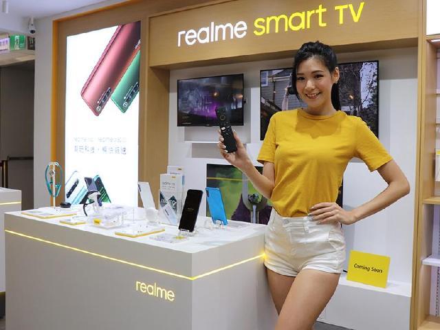 realme智慧電視登台亮相 11/14三創專櫃試營運祭優惠