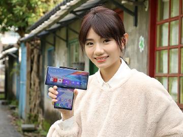 旋轉雙螢幕帶來新體驗 LG WING手機開箱評測