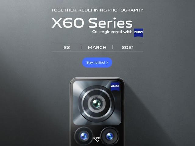 vivo X60國際版改用高通S870處理器 3月底發表