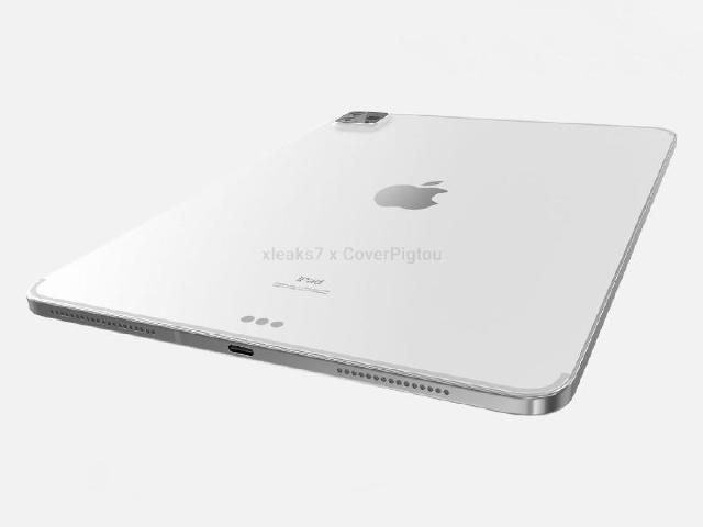彭博社:新iPad Pro於4月發表 M1晶片與Thunderbolt傳導入