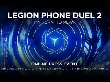 聯想二代電競手機 Legion Phone Duel 2確定4/8發表