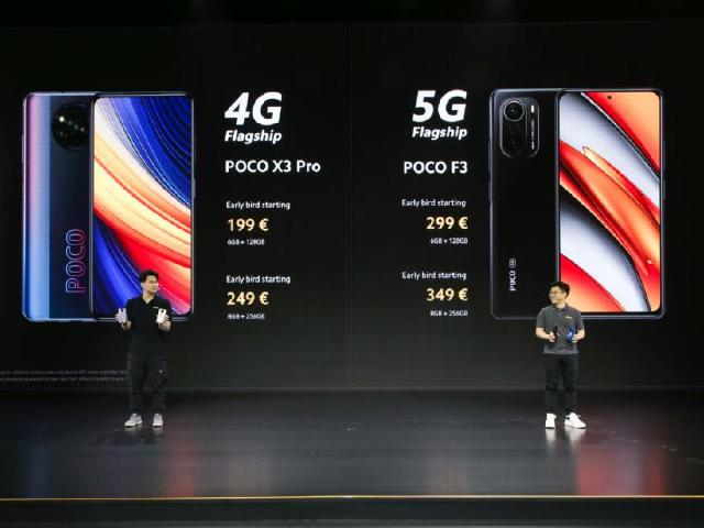 POCO F3與X3 Pro旗艦手機 傳最快4月台灣開賣
