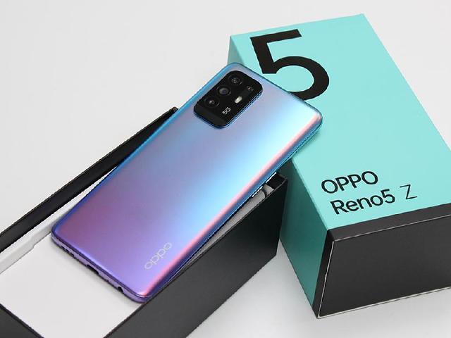 上市前搶先開箱!5G輕薄手機OPPO Reno5 Z