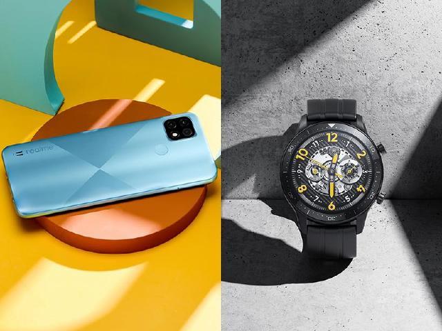 realme C21手機與watch S Pro手錶 4月中旬上市
