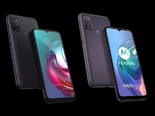 4G雙卡手機Motorola G30與G10 台灣上市價5990起