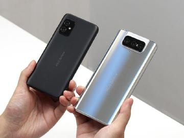 華碩大小旗艦手機 Zenfone 8與8 Flip相機測試比較