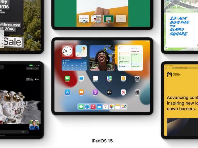 主打多工!蘋果發表iPadOS 15 正式版秋季上線
