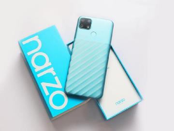 線上限定!6千大電量規格手機 realme narzo 30A開箱