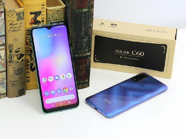 居家學習利器 SUGAR C60大螢幕與大電量手機體驗