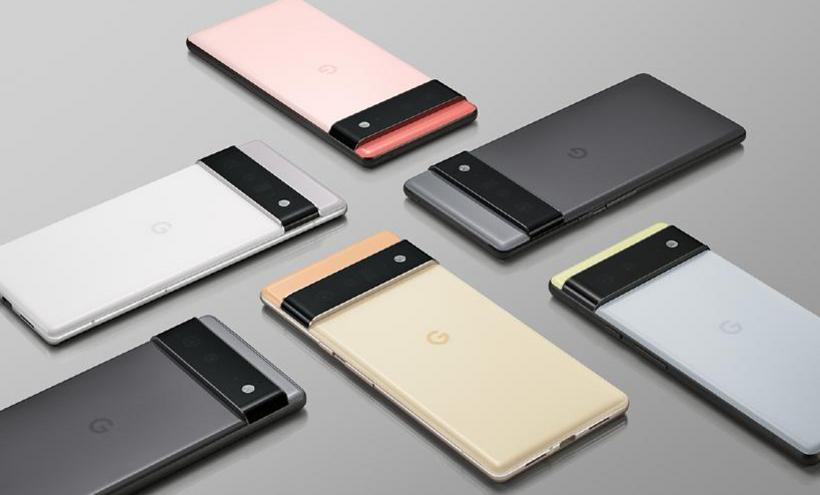 Google Pixel 6與6 Pro外型公布 採用自研晶片Tensor