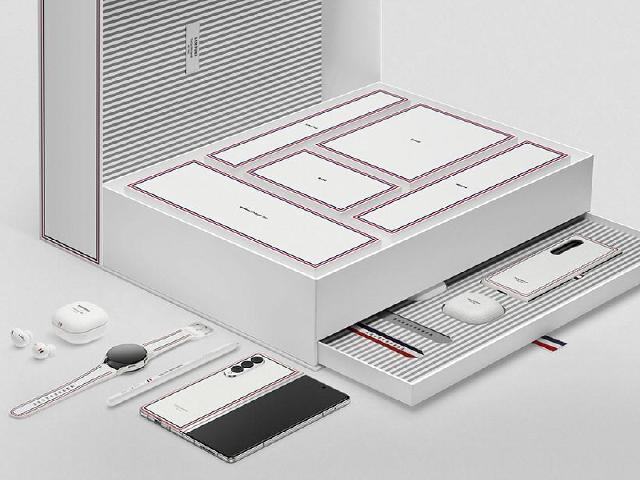 三星Z Fold3與Flip3 Thom Browne限量版8月底開放預購