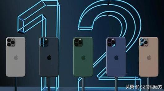 iPhone 12、iPhone 12 Max、iPhone 12 Pro、iPhone 12 Pro Max